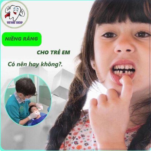Niềng răng cho trẻ tại Nha khoa Việt Nha