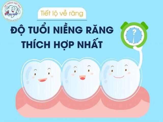 10 -15 tuổi là thời điểm niềng răng tốt nhất - nha khoa Việt Nha