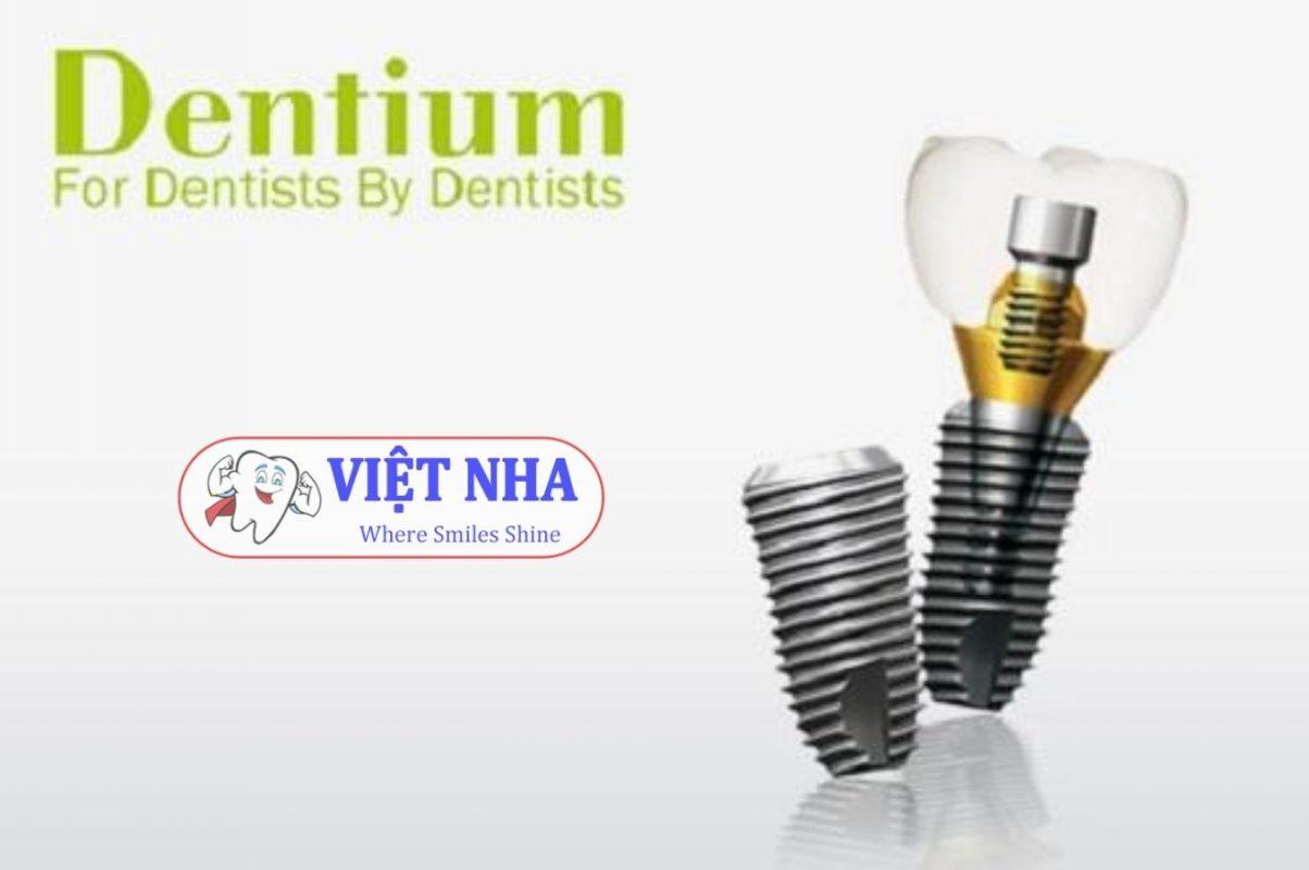 Implant Dentium (Hàn Quốc) - Nha Khoa Việt Nha