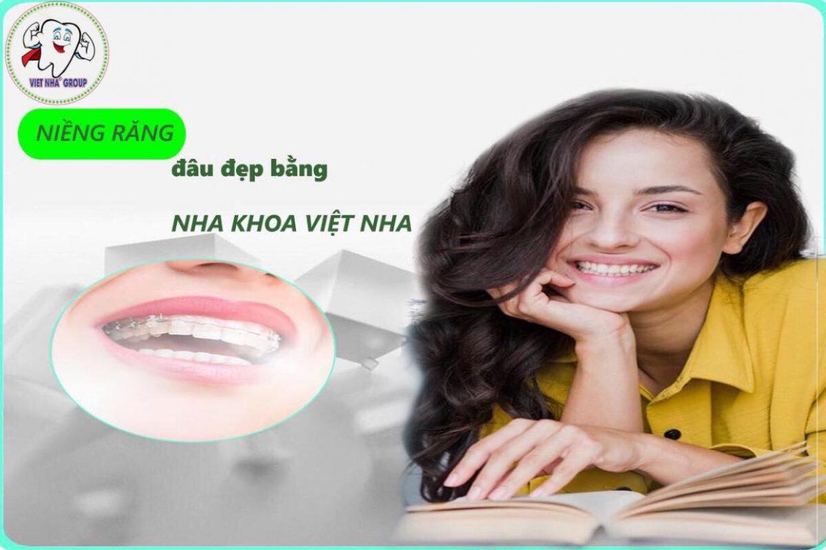 Nụ cười tự tin cùng Nha Khoa Việt Nha