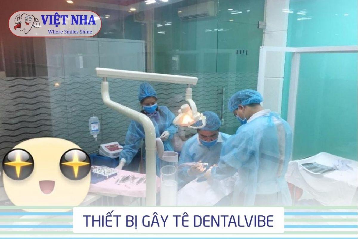 Thiết bị gây tê Dentalvibe - không đau - không rách mô - Nha Khoa Việt Nha