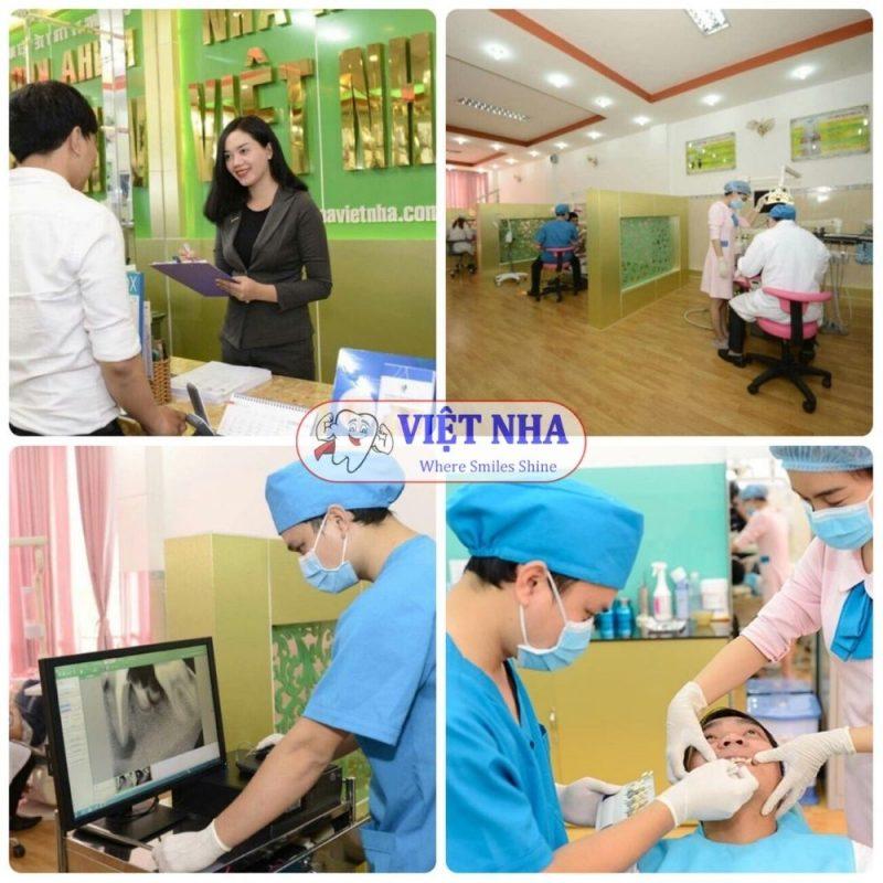 Nha khoa Việt Nha trang bị hệ thống máy móc hiện đại cùng với đội ngũ bác sĩ niềng răng giỏi