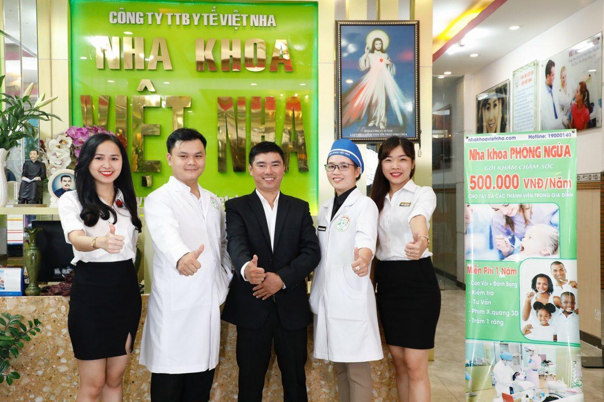 Hệ thống hiện đại, đội ngũ y, bác sĩ chuyên khoa - Nha Khoa Việt Nha